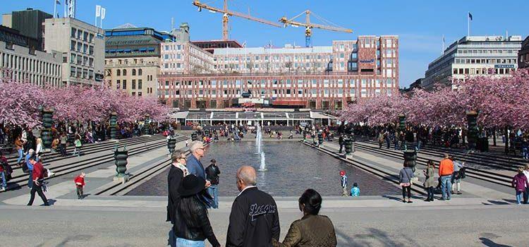 Парк Кунгстрэдгорден, Стокгольм