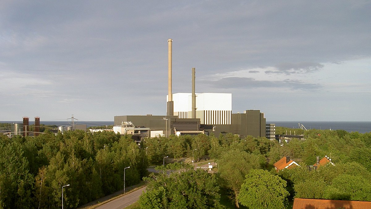 Природные ресурсы Швеции атомная станция