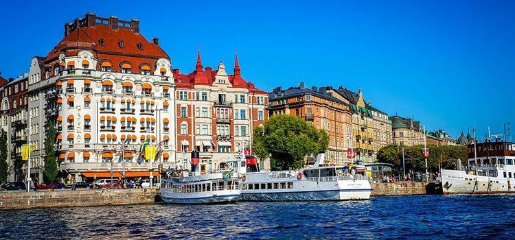 Погода в Стокгольме в июле
